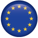 A tiny Europe Flag for contact number