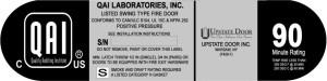 QAI_Listing_  F428-1 Edition 1 - Upstate Door_Door