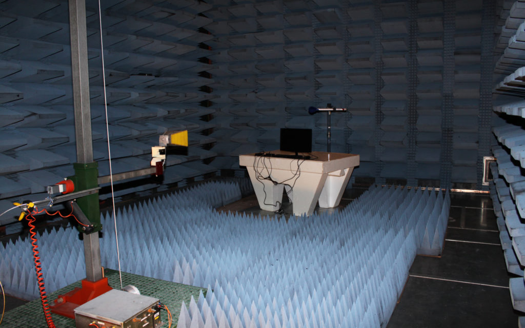 EMC Chamber for Electromagnetic Testing at QAI Laboratories Vancouver