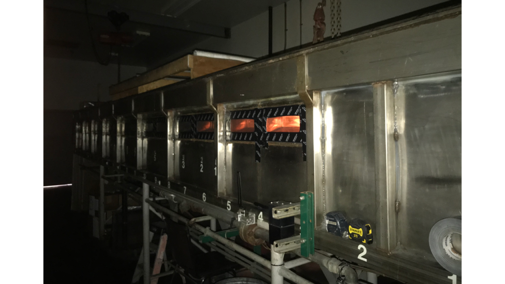 Photo of Fire Chamber Testing for Building Products