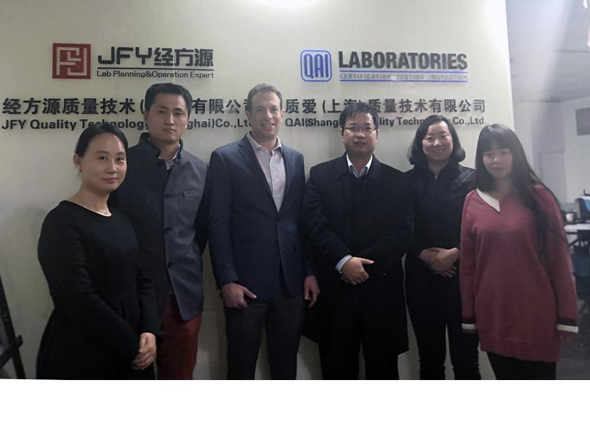 Photo of QAI China Team