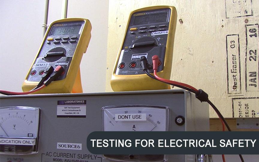Electrical Safety Testing at QAI Laboratories