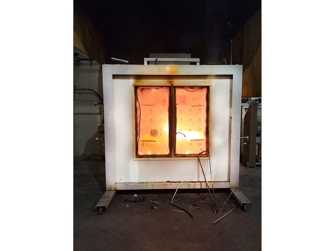 Fire Door Testing Structure