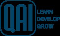 QAI logo with Learn Develop Grow slogan