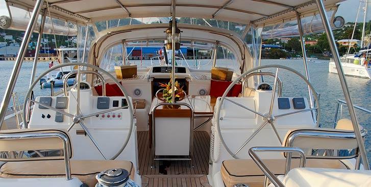 Emc testing on boat cockpit