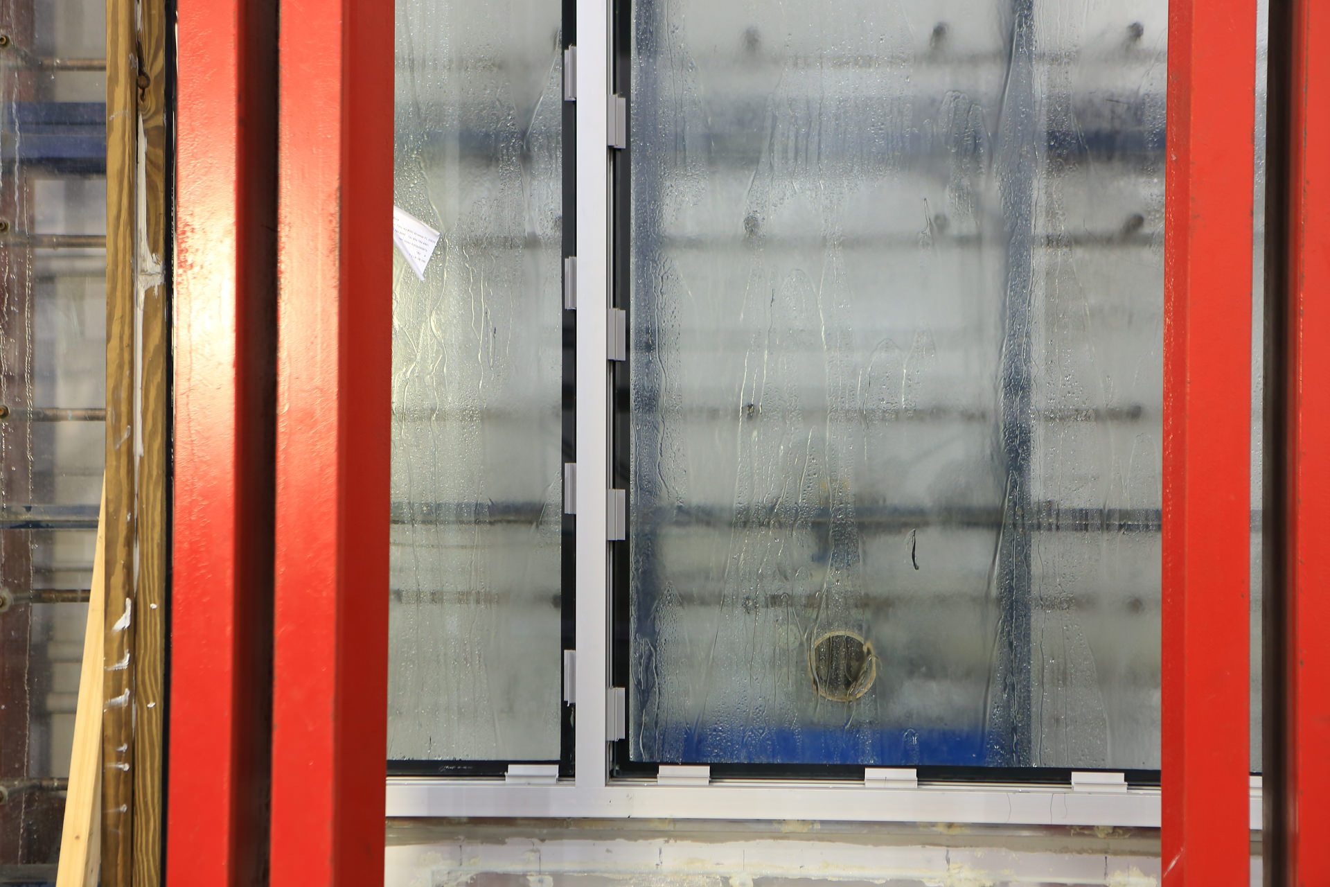 Air and Water Testing Fenestration