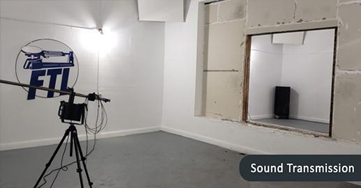 Sound transmit for Acoustic Testing