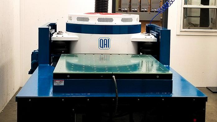 QAI Vibration Table