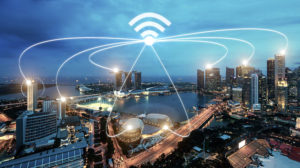 Interconnected Devices in City